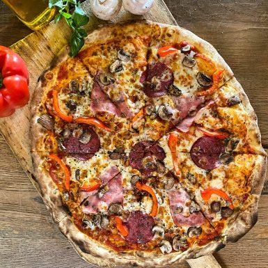 Pizza Quattro Gusti