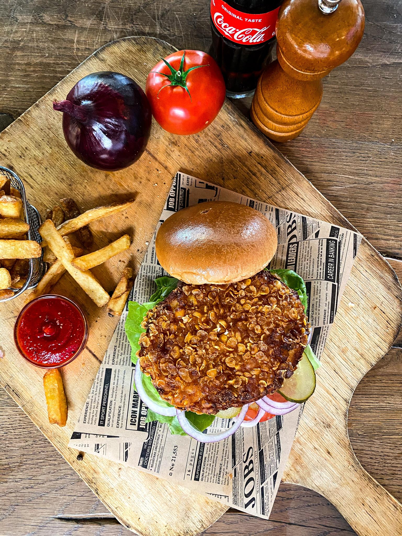 """Chicken Burger / Chicken Burger """"Asia Style"""""""