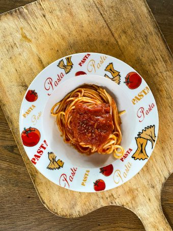 Kids Pasta Pinnocchio